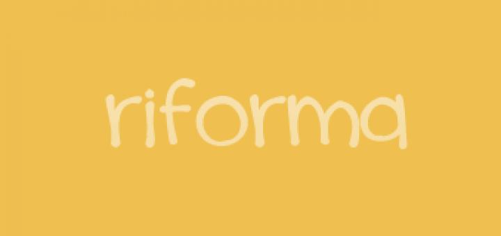 La riforma